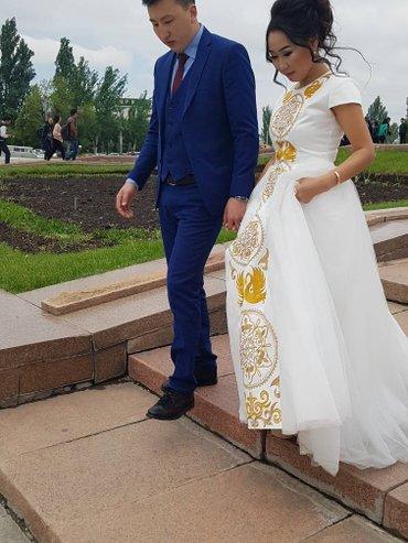 Продаю или сдаю шикарное платье на кыз в Бишкек