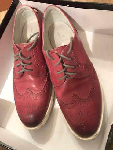 Продаю кожаные туфли-оксфорды Boot&Shoes, размер 40 в Бишкек