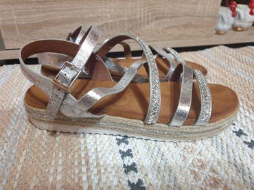 Ženska obuća | Zrenjanin: Nove Safran sandale. Velicina 40. Gaziste 25.5cm