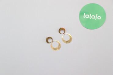 Сережки кільця Lilou   Довжина: 6 см  Стан гарний, є сліди носіння