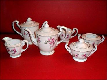 Dva seta za čaj   Dva seta za čaj od Porcelana, ukrašena slikama - Beograd