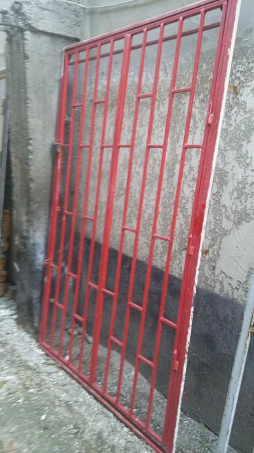 Решётчатая дверь высота 210 см ширина 132 см в Бишкек