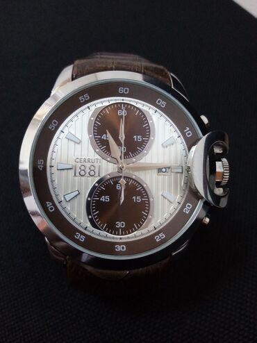 zolaqli kisi sviteri - Azərbaycan: CERUTTİ kişi qol saatı tecili satılır