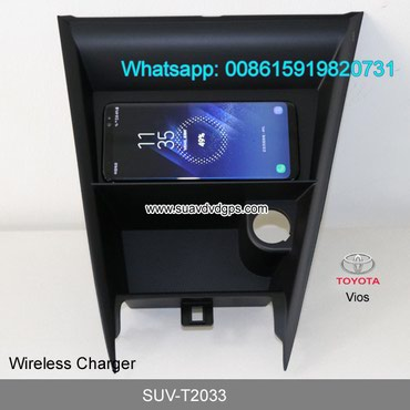Toyota Vios Car QI wireless charger quick charge fast wireless in Kathmandu