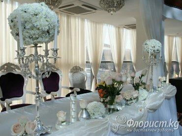 канделябры (подсвечники) для декора свадеб: на 5 свечей высотой 60см 5 в Бишкек