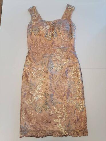 Kvalitetna svecana haljina francuskog brenda Lautinel. Od tila sa