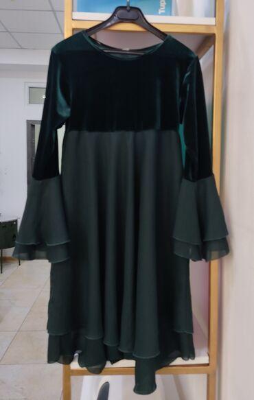 Красивое платье б/у в хорошем состоянии на 8-10 лет