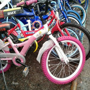 велосипед-3-в-1 в Кыргызстан: Привозные Детские велосипеды из Кореи от 3000 до 5000