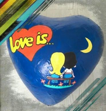 Большое сердце Love is - подарите эмоции в Бишкек