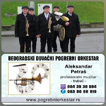 Beogradski sindikat - Srbija: Obrenovac.Muzika za sahrane.Orkestar za sahrane, beogradski duvački