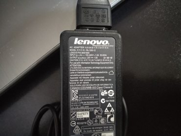 Lenovo original charger (adapter zaryadka) в Bakı