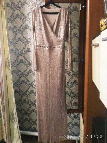 Платья - Джалал-Абад: Вечернее платье одета один раз. Размер М-L. Цена 2500 с покупала за