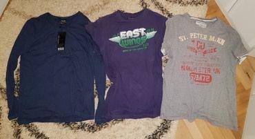Muška odeća   Loznica: Majica muska dugi rukav i 2 kratak. teget dugi rukav je nova, a ove