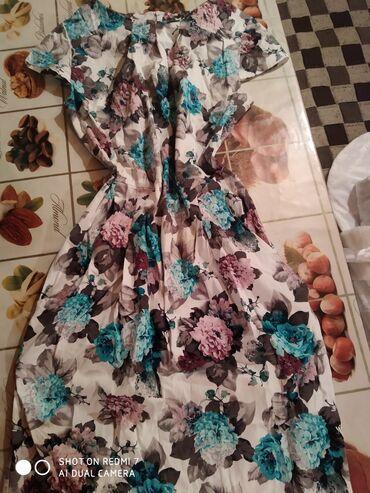 летнее платье свободного кроя в Кыргызстан: Платье Свободного кроя 0101 Brand XL