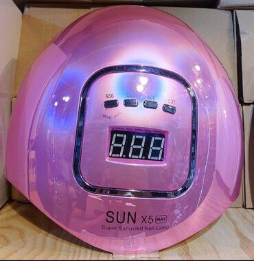 Lunar led - Crvenka: 120W led lampa za nokte.- UV led lampa za nokte SUN X5 Max sa