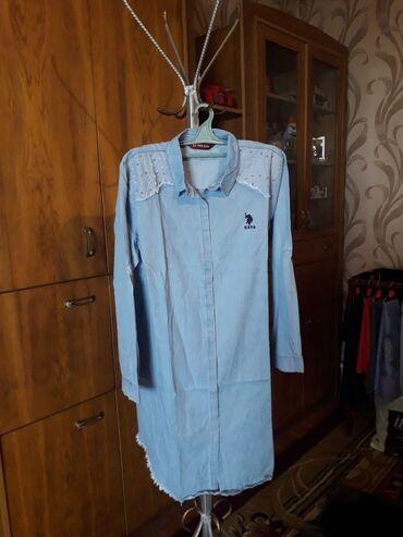 Платья - Джалал-Абад: Платье-рубашка