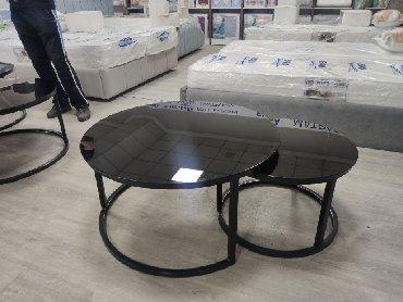 Комплекты столов и стульев в Кыргызстан: Стол комплектДиаметр большего стола 90Диаметр маленького стола