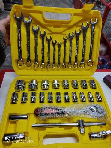 Набор 37 предметов, головки, ключи родковые, трешотка и т.д. 2500