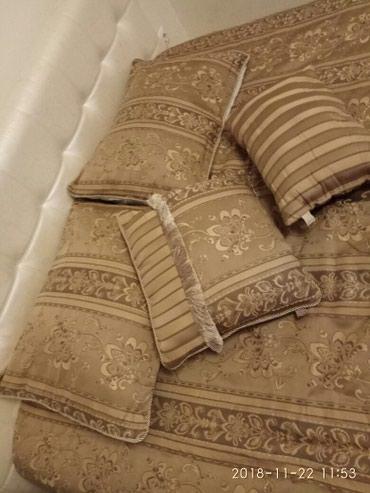 декоративная наволочка 30х30 в Кыргызстан: Новый набор: теплое покрывало-одеяло, две подушки декоративные и две