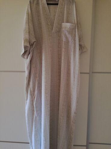 Haljine | Bajina Basta: Haljina za punije osobe iz uvoza. Ravan kroj. Dužina 146, poluobim