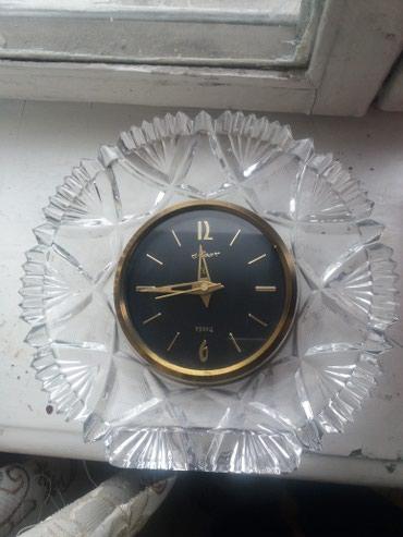 Часы ссср Маяк хрустальные в Бишкек