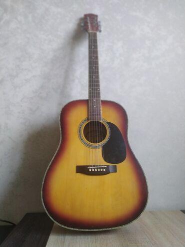 Музыкальные инструменты - Бишкек: Гитара Струны виниловые Фирма Sampson Model G10-SBОтличное