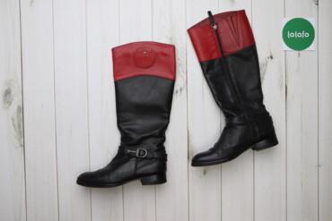 Жіночі чобітки Tommy Hilfiger, р. 38    Довжина підошви: 26 см Ширина