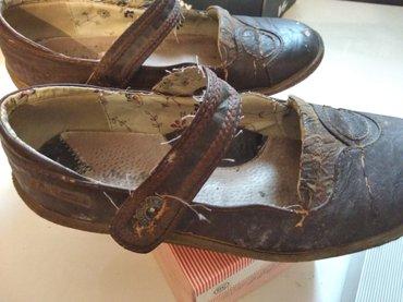 Kozne cipele braon .BR.37.ko NOVE, - Pancevo