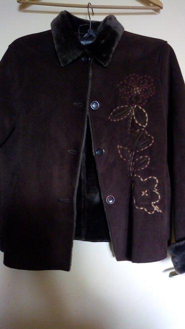 Nova zenska jakna..imitacija prevrnute koze..postavljena - Kraljevo