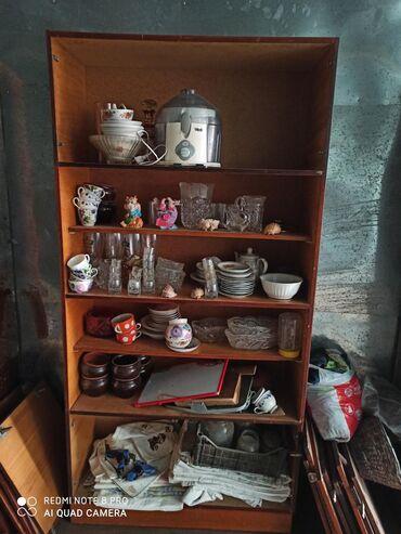 шкаф для посуды в Кыргызстан: Шкаф стенка из 3х частей,для хранения посуды и прочих бытовых