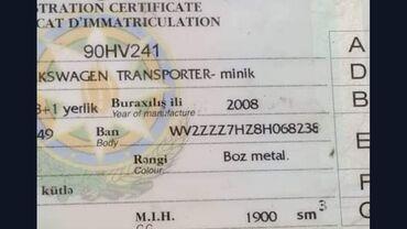 volkswagen 2008 в Азербайджан: Volkswagen Beetle (Pre-1998) 1.9 л. 2008 | 180000 км