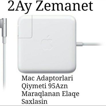 Bakı şəhərində Apple komp adaptorlari whatsapp var