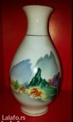 Vaza od porcelana. Visina vaze je 25cm. - Novi Sad