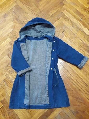 Mantil, kaputic, tanka jakna za prelazni period, velicina 4. Teget - Belgrade