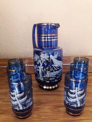Продается набор для напитков Чехословакия в хорошем состоянии