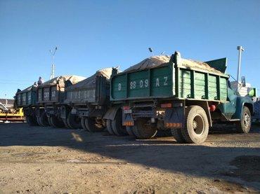 Песок шебен отсев глина черна зем  в Бишкек