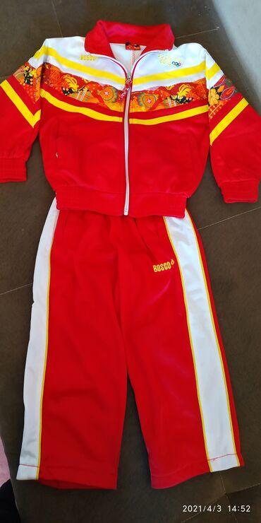 Спортивный костюм.размер на 3 годика.б/у на плече незначительное