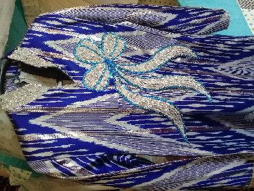 Узбекский национальный костюм обшитый бисерю новое одевала час на пра