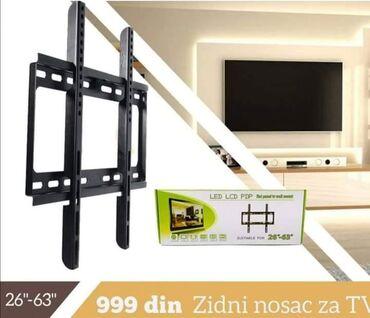 Lcd televizor - Srbija: Fiksni nosač za televizore od 26″ do 63″Cena: 1100 dinaraNaručivanje u