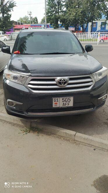 toyota-4x4 в Кыргызстан: Toyota Highlander 3.5 л. 2011 | 143000 км