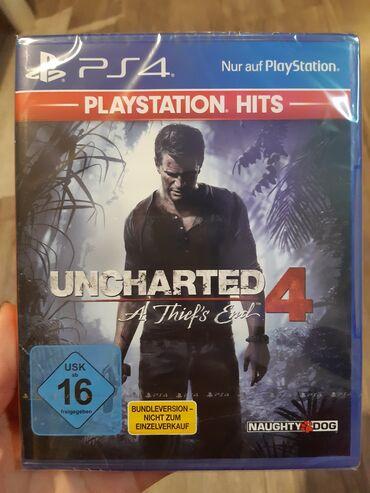 51 oglasa   PS4 (SONY PLAYSTATION 4): UNCHARTED 4 A THIEF'S END Igrica za PS4 nova neotpakovana u celofanu