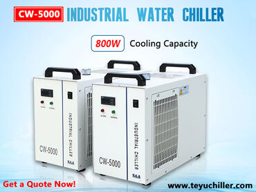 in Amargadhi: Small water chiller system CW5000 s&a chiller  Website: https://ww