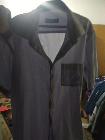 Рубашка летняя мужская - Кыргызстан: Брендовая мужская летняя рубашка.Одевал 3 раза (точно помню).В