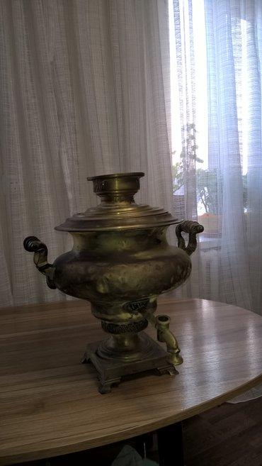 самовар 1898года, (антиквариат)без краника. все вопросы по телефону. в Бишкек