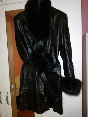 NOV kožni kaput(prava koža),nenošen zato što mi ne odgovara - Novi Sad