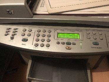 Принтеры в Боконбаево: Принтер 3 в 1 черно белый, HP LaserJet 3055, состояние хорошее сам