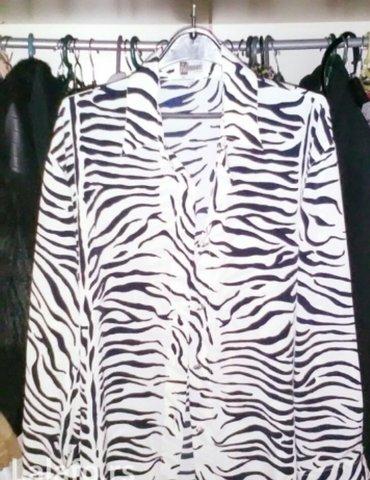 Zenska kosulja zebra animal print vel 44 m - Belgrade