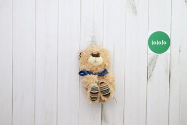 Игрушки - Украина: Дитяча м'яка іграшка Ведмедик з синім бантиком Fancy    Бренд: Fancy