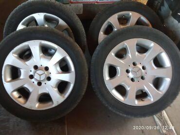 Bentley continental gt 4 at - Кыргызстан: Продаю диски на Мерседес с резиной