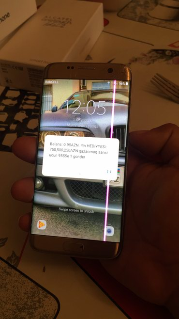 Samsung Bakıda: Samsung. s7eygce satram sadecce ekranda at ve xet vart rial alana